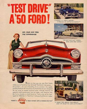 Test Drive a '50 Ford!