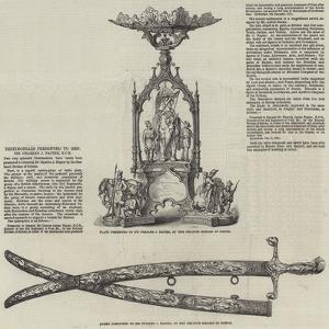 Testimonials Presented to General Sir Charles J Napier