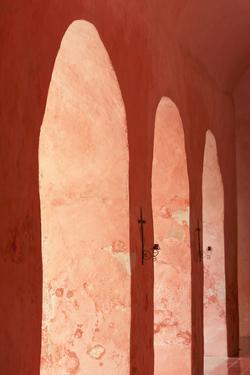Mexico, Yucatan, Valladolid, Arcade by Tetra Images