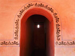 Mexico, Yucatan, Valladolid, Entrance by Tetra Images