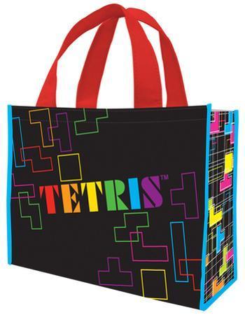 Tetris Large Recycled Shopper