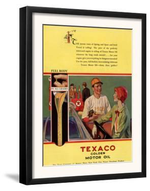Texaco, Magazine Advertisement, USA, 1926
