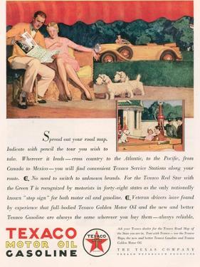 Texaco, Magazine Advertisement, USA, 1929