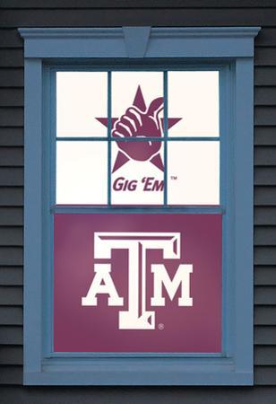 Texas A&M University Reveille Dual WOWindow Poster