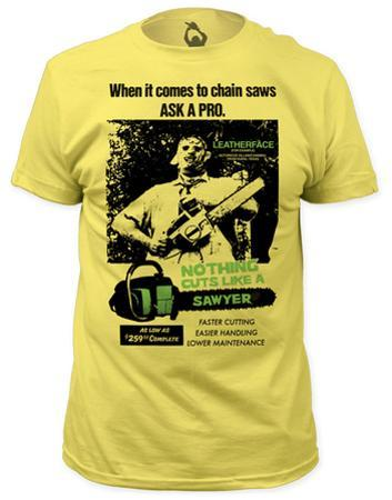 Texas Chainsaw Massacre - Cuts Like a Sawyer (slim fit)