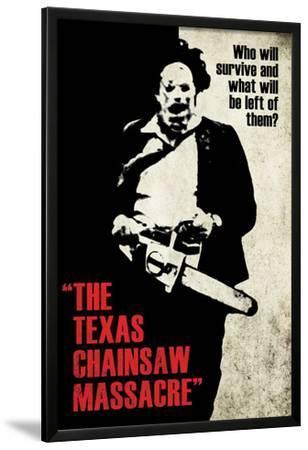 Texas Chainsaw Massacre- Leatherface Silhouette