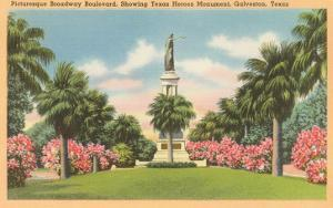 Texas Heroes Monument, Galveston, Texas
