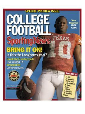 Texas Longhorns QB Vince Young - August 19, 2005