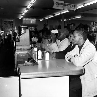 Texas Lunch Counter Sitdown