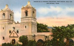 Texas Mission, San Antonio, Texas