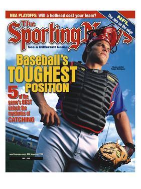 Texas Rangers C Pudge Rodriguez - May 1, 2000
