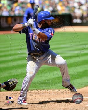 Texas Rangers - Elvis Andrus 2011 Action