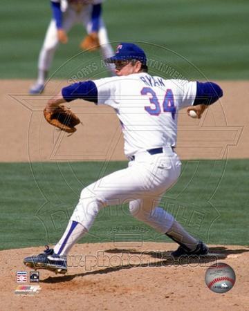 Texas Rangers - Nolan Ryan Photo