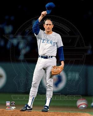 Texas Rangers - Nolan Ryan Photo