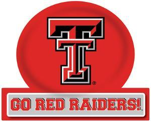 Texas Tech Red Raiders Jumbo Tailgate Peel & Stick