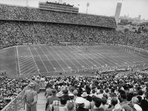 Texas Vs Oklahoma Game in the Cotton Bowl