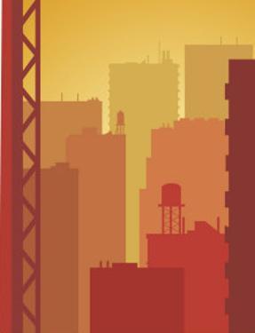 Texture, City Skyline