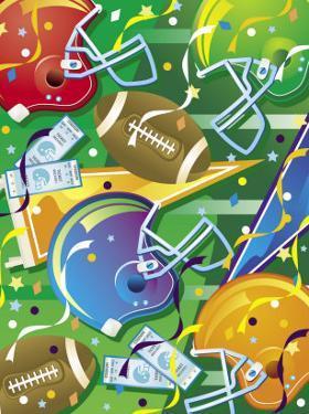 Texture, Football Elements, Grouped Elements