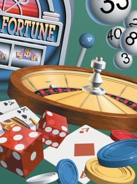 """Texture, Gambling Montage, """"Fortune,"""" """"$"""""""