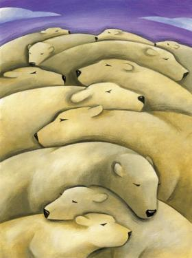 Texture, Sleeping Polar Bears