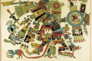 Tezcatlipoca, Aztec Lord of Days, War, Heaven and Earth, Antagonist of Quetzalcoatl