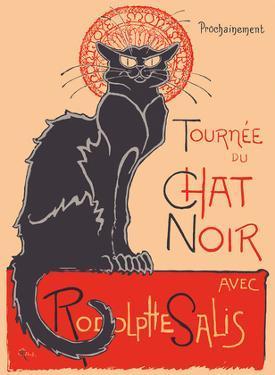 The Black Cat Cabaret Tour (Tourn?du Chat Noir) - with Rodolphe Salis by Th?hile Alexandre Steinlen
