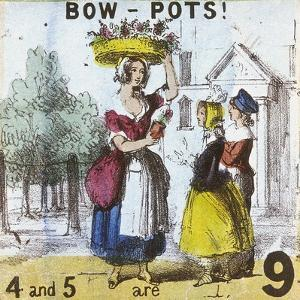 Bow-Pots!, Cries of London, C1840 by TH Jones
