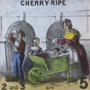 Cherry-Ripe, Cries of London, C1840 by TH Jones