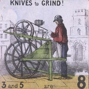 Knives to Grind!, Cries of London, C1840 by TH Jones