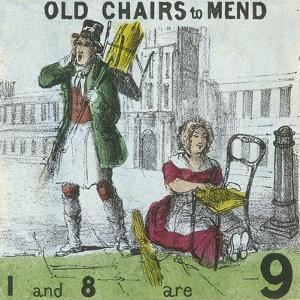 Old Chairs to Mend, Cries of London, C1840 by TH Jones