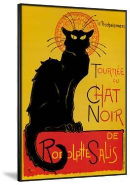 Chat Noir by Th?ophile Alexandre Steinlen