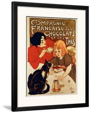 Compagnie Francaise by Th?ophile Alexandre Steinlen