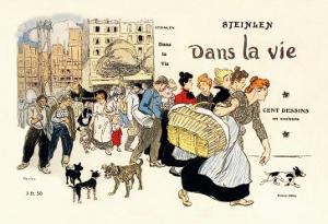 Dans la Vie, c.1900 by Th?ophile Alexandre Steinlen