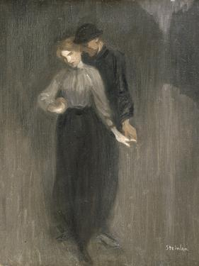 Le Couple by Th?ophile Alexandre Steinlen