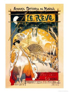 Le Reve by Th?ophile Alexandre Steinlen