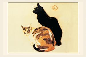 Les Chats by Th?ophile Alexandre Steinlen