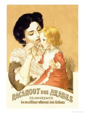 Racahout des Arabes, c.1900 by Th?ophile Alexandre Steinlen