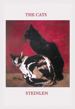 The Cats by Th?ophile Alexandre Steinlen