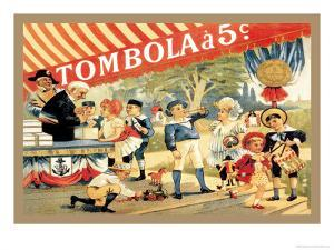 Tombola by Th?ophile Alexandre Steinlen