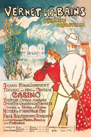 Vernet-les-Bains: Pyrenees Orientales, c.1896