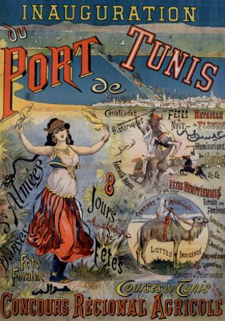 Inauguration du Port de Tunis