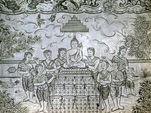 Thailand, Bangkok, Wat Rajanaddaran Temple