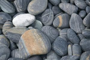 Thailand, Ko Hin Ngam, striped pebbles