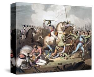 Battle of Salamanca, Spain, 21st July 1812 (1819) by Thales Fielding