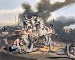 Battle of Talavera, Spain, 28th July 1809 (1819) by Thales Fielding