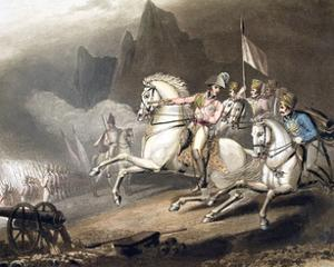 Battle of the Pyrenees, Spain, 28th July 1813 (1819) by Thales Fielding