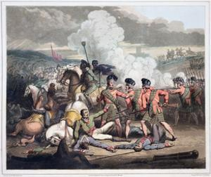 Battle of Vimeiro, Portugal, 1st August 1808 (1819) by Thales Fielding