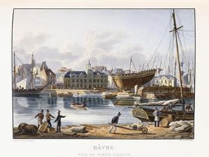 Le Havre, Seen from the Old Dock, 1823-1826 by Thales Fielding