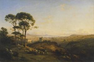 Naples from Conocchia, 1838 by Thales Fielding