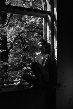 By the window by Thanakorn Chai Telan